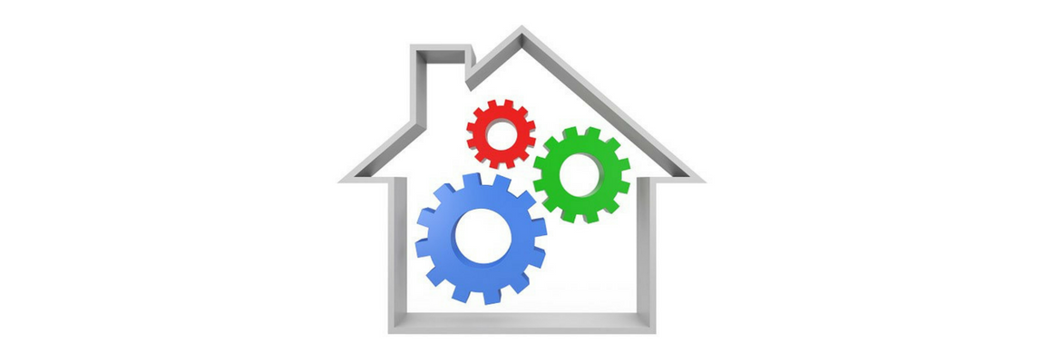 House with cogs, negative gearing and tax depreciation